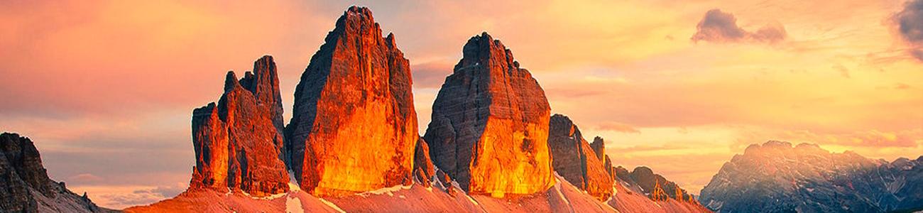 cinque torri mountains