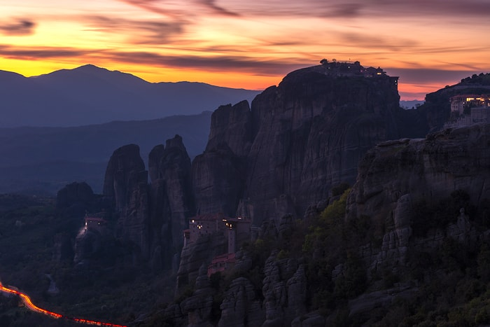 A trip to Meteora offers the unique experience of nature's grandeur in conjunction with history, architecture and man's everlasting desire to connect with the Divine.