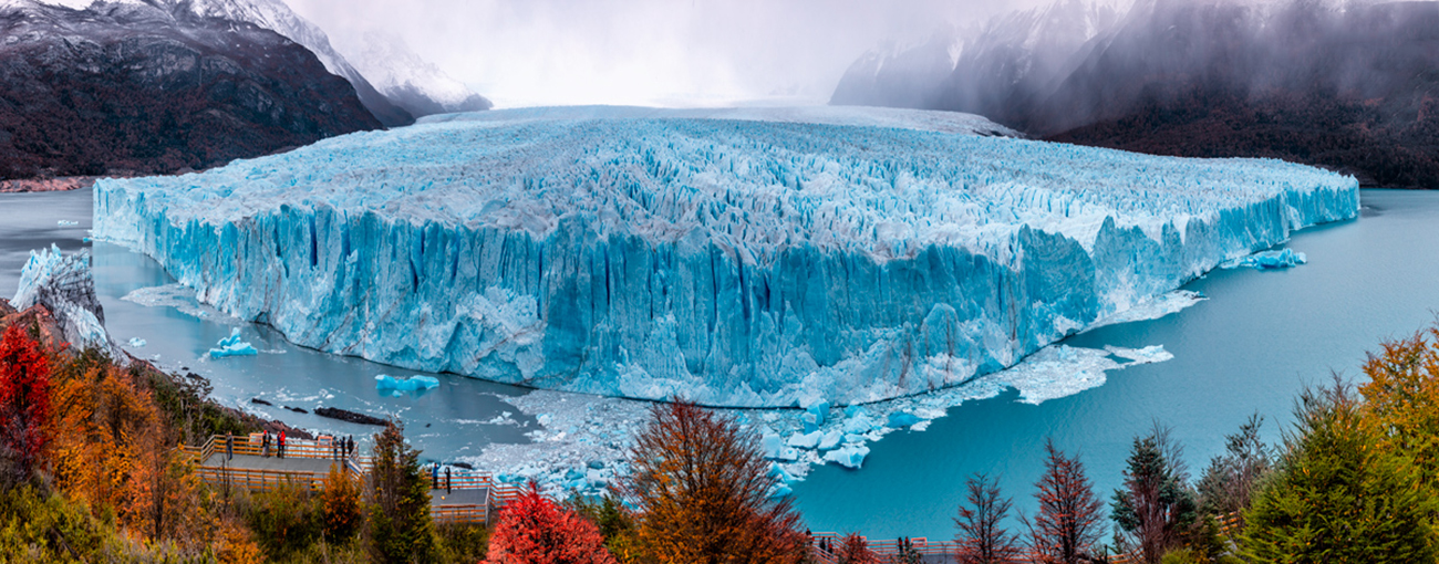 a great view from perito moreno glacier