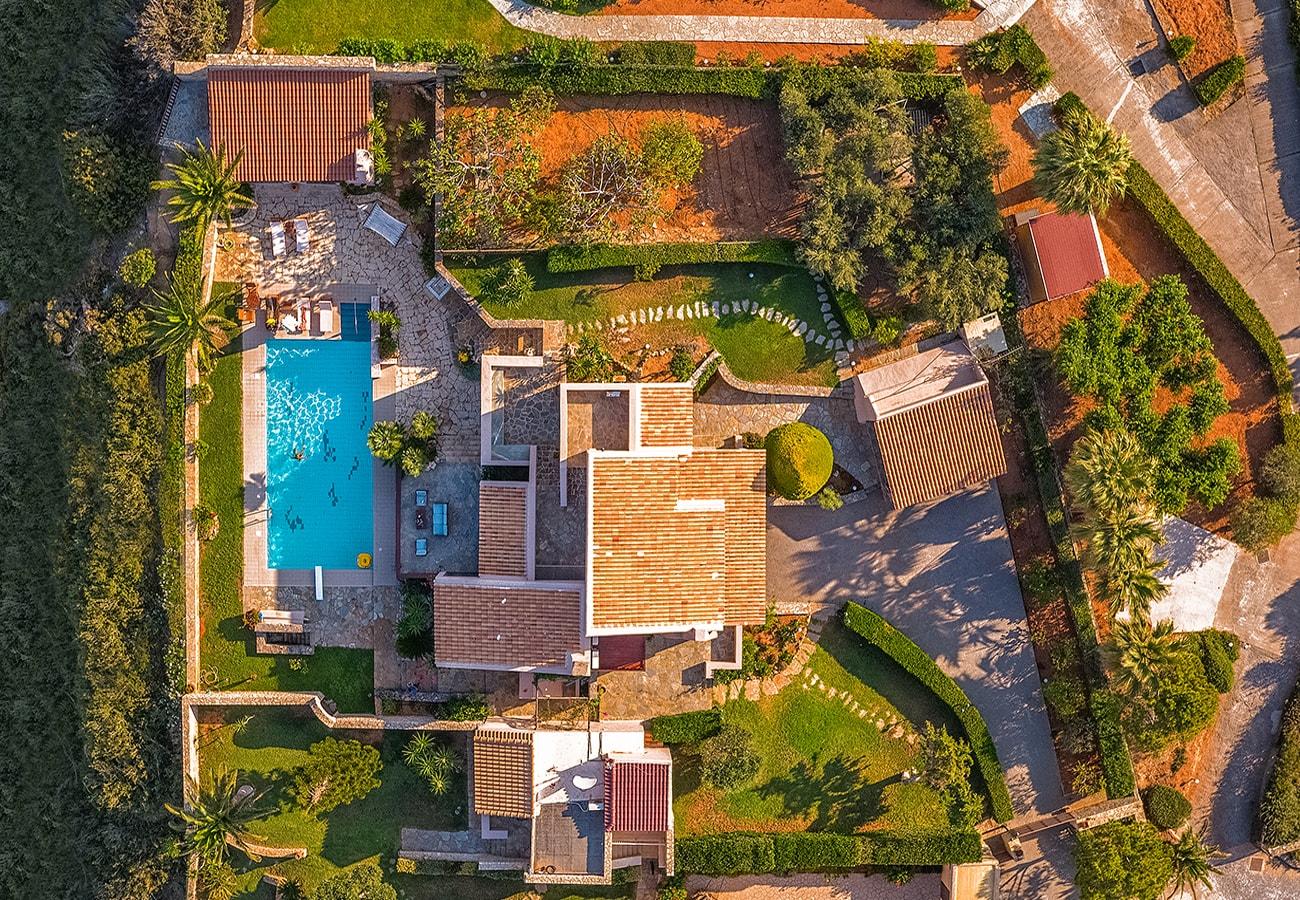 Koutouloufari villas,Crete island
