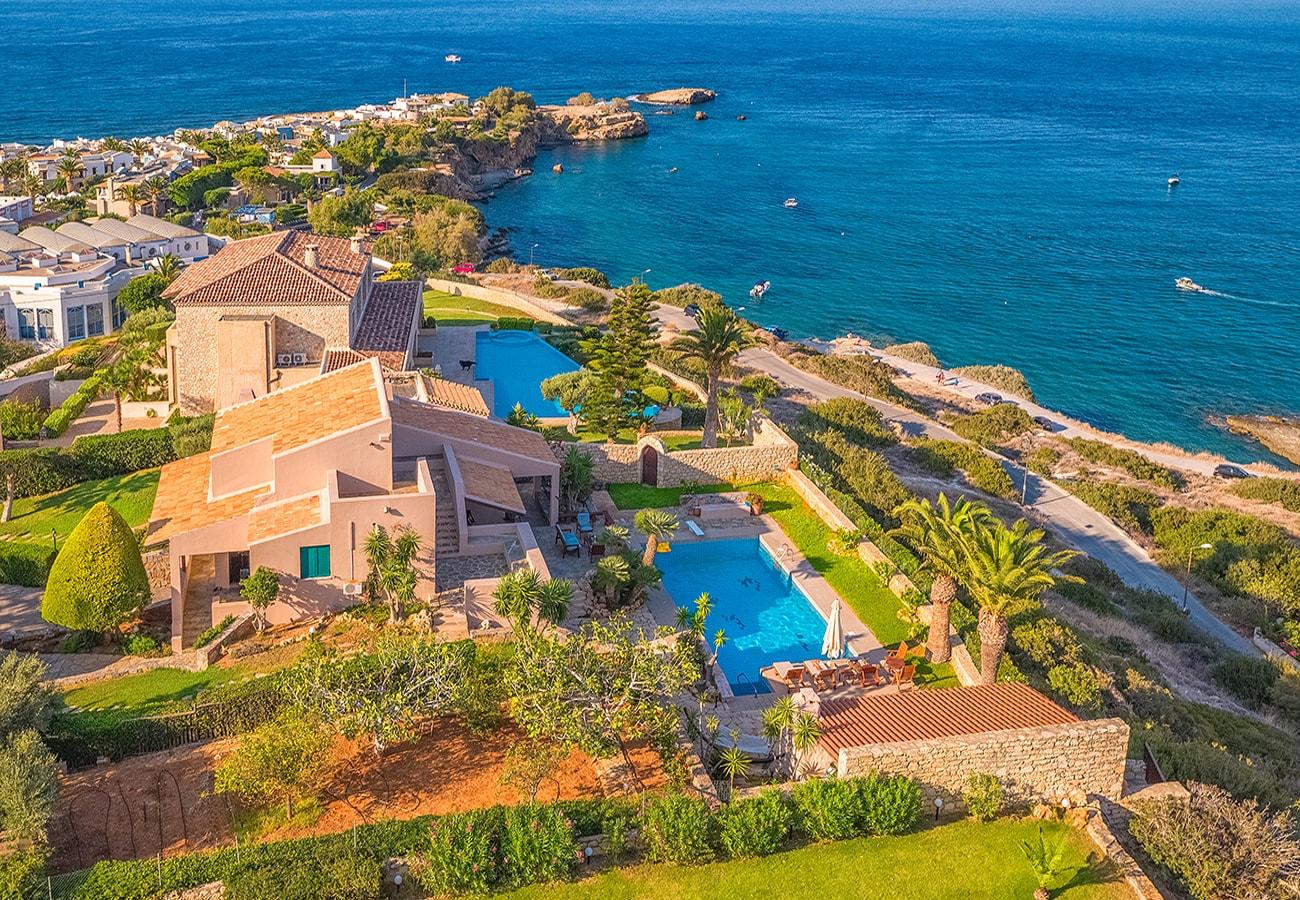 Arcitecture photography villas in crete