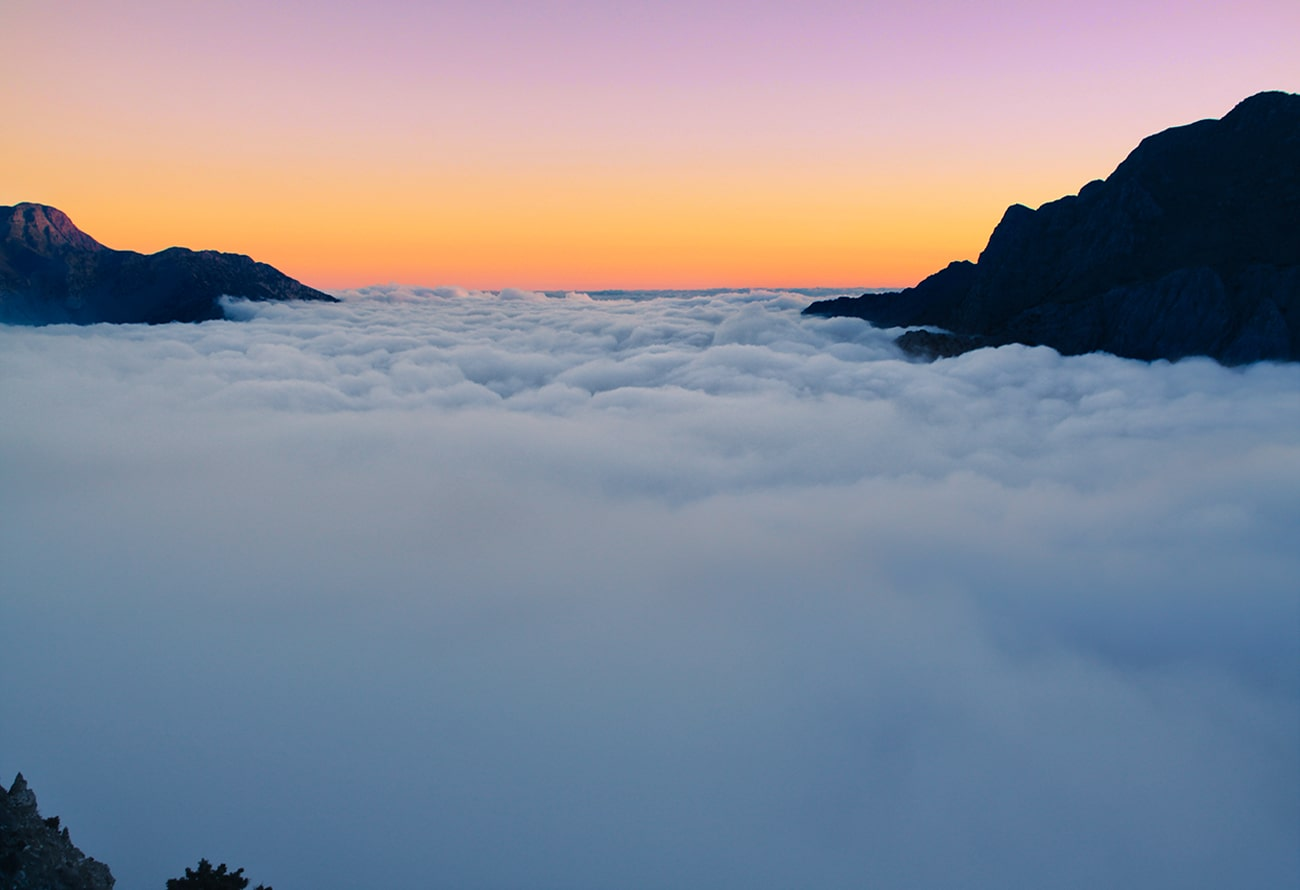the view above the clouds,omalos area,chania