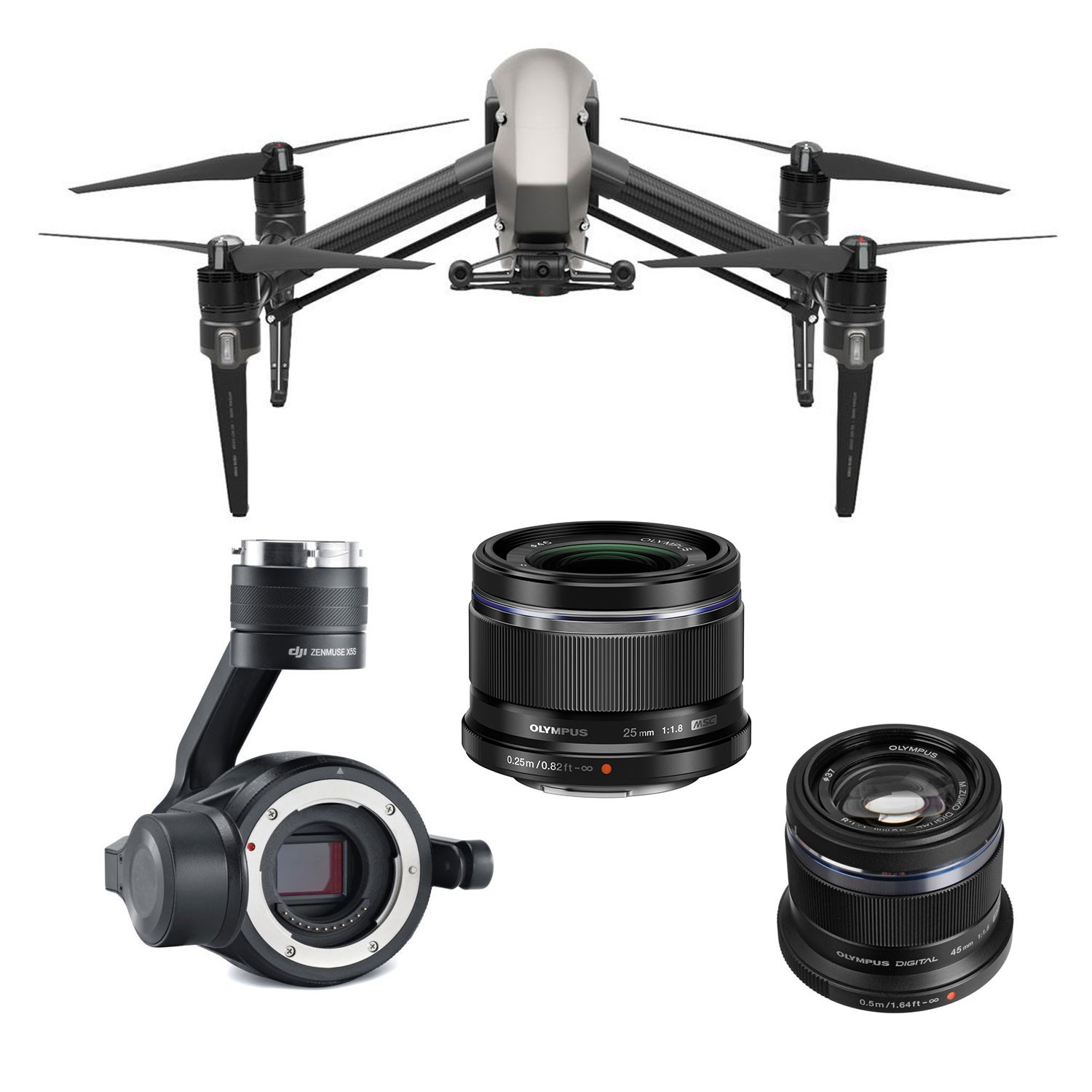 Drone for aerial photography at very high resolution